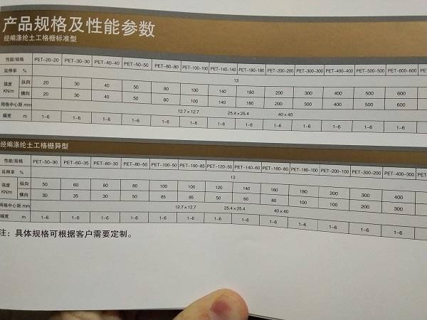 聚酯经编涤纶土工格栅国标GB/T21825-2008行业标准图