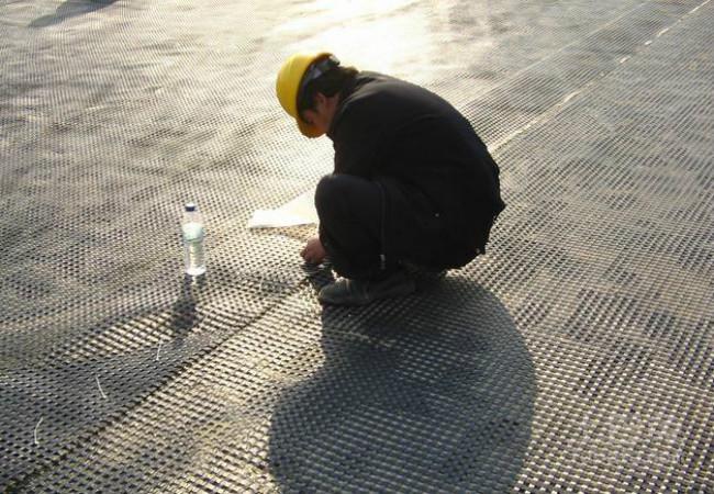 玻纤土工格栅施工细节
